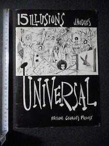 15 Illusions Universal Livre De Magie 1985 J Hodges Editions G Proust J85vdo6h-07162446-883024688