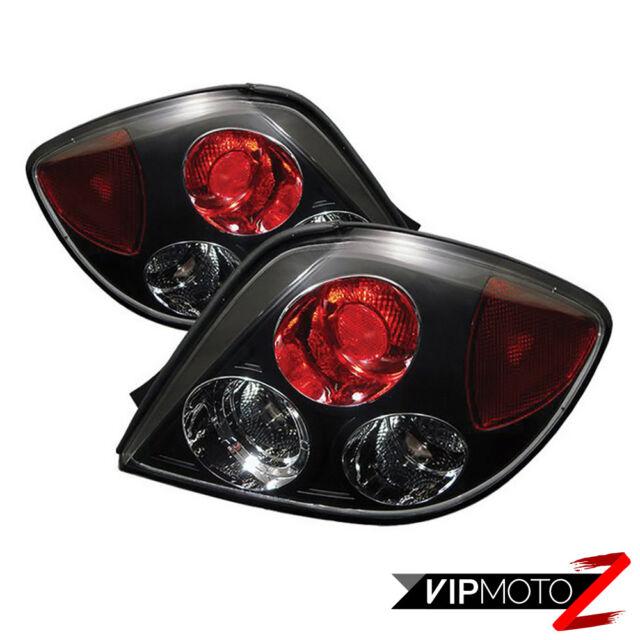 For 2003-2005 Tiburon GS/GT/SE Left+Right Black Altezza Tail Light