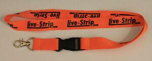 Live-Strip-llavero-nuevo-Lanyard-t270