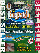 8 WK+ SUPPLY MOSQUITO & INSECT REPELLENT PATCHES NATURAL & WATERPROOF 48 patches