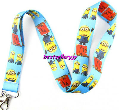 LOT 10Pcs Popular cartoon Neck mobile Phone lanyard Keychain straps charms Gifts