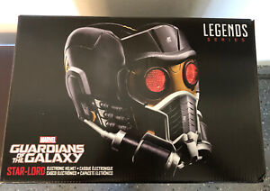 SHIPS NOW Marvel Legends Guardians of the Galaxy Star-Lord Electronic Helmet