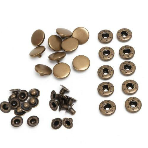 Sewing Accessories Stud Scrapbooking Press Button Fasteners Snap Buttons Round
