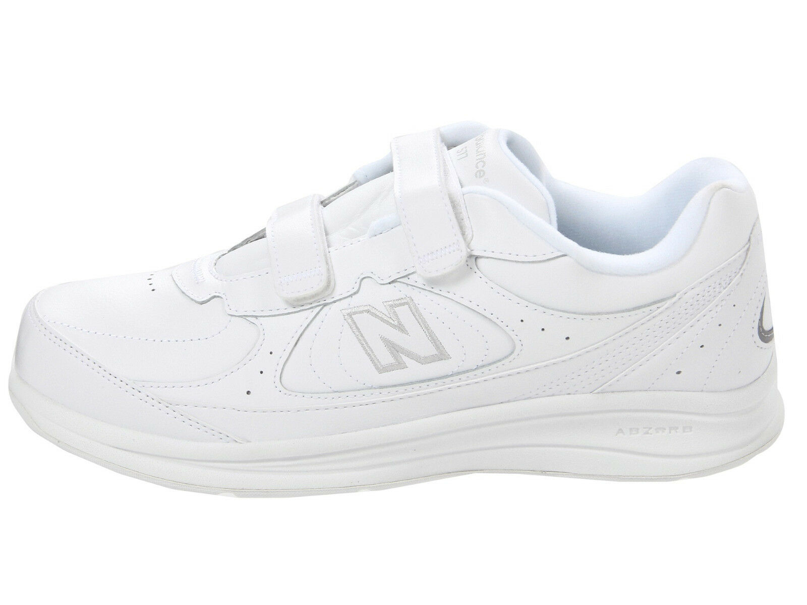 Men Men Men New Balance MW577VW Walking Wide 2E Leather White 100% Authentic Brand New dd20c8