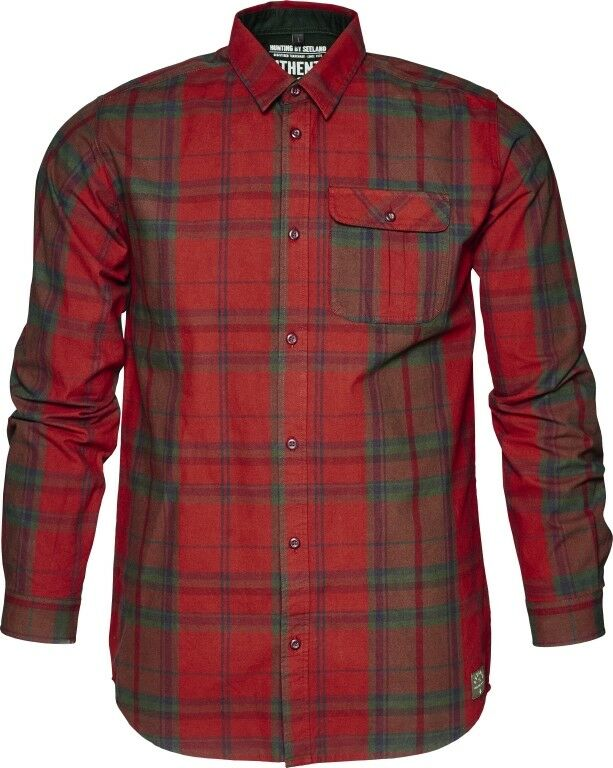 NEU  Seeland Hemd CONROY - russet brown - leichtes Popelin - 100% cotton