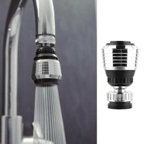 360 Degree Rotate Nozzle Torneira Kitchen Water Saving Faucet Areator Bubble NEW