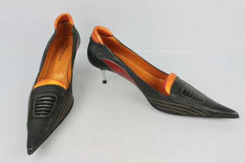Moderate Shoes 39 Andrealattanzi It Rock Fr Leather Silver 38 Court Black All aqBqT
