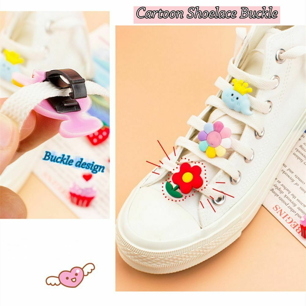 Ins Style Fruit Cartoon Resin Accessories Shoelace Buckle Decoration Flower