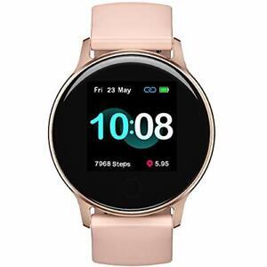 Umidigi Smart Watch für Android Handys Kompatibel Mit Samsung iPhone Schlaf T....