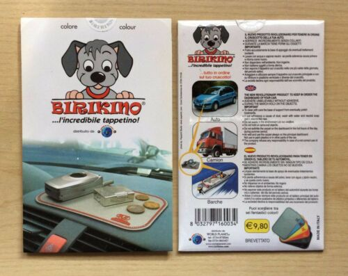 TAPPETINO PER AUTO CAMION BIRIKINO L/'INCREDIBILE TAPPETTINO BARCHE