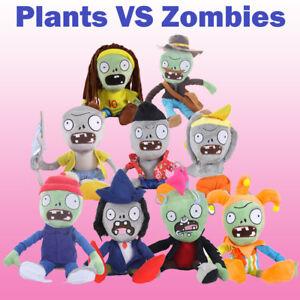 New Plants vs Zombies 2 PVZ Figures Plush Baby Staff Toy Stuffed Soft Doll Gift