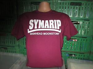 MAROON T Shirt SKinhead laurels