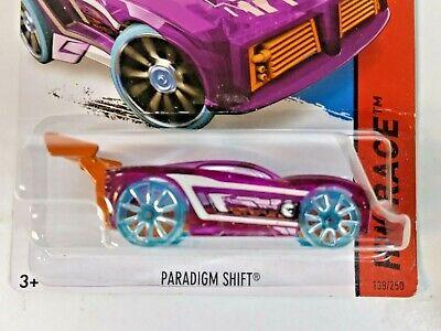 2015 Hot Wheels #138 HW Race X-Raycers Paradigm Shift Treasure Hunt