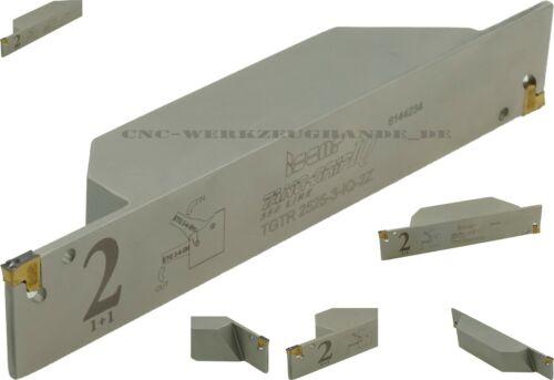 ISCAR TANG-GRIP Kompaktklemmhalter TGTR 2525-3-IQ-2Z für WSP Typ TAG N3 Dmax65mm