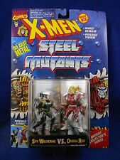 X-Men 1994 Steel Mutants – Spy Wolverine vs. Omega Red – MIMP – Toy Biz Die Cast