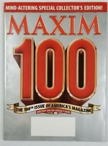 Maxim Magazine April 2006 The 100th Issue Very Good #100