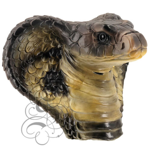 Reptile Animal Latex Snake Mask Halloween Stag Carnival Fancy Dress Party New