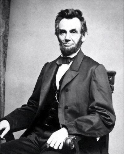 Abraham Lincoln Photo 8X10 President Honest Abe #10 B/&W  Buy Any 2 Get 1 FREE