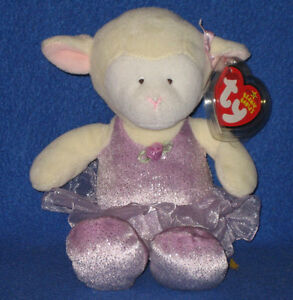TY WOOLSY the LAMB 2.0 BEANIE BABY MINT with MINT TAGS