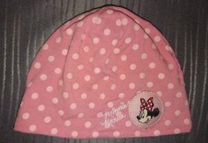 4544 Kinder Baby Beanie Mütze DISNEY MINNIE MOUSE BABY Minnie Maus Babymütze
