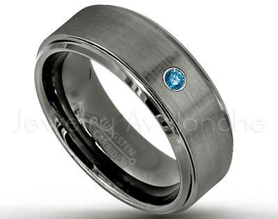 Diamond Band Men Tungsten Wedding Band,Man Tungsten Wedding Ring,April Birthstone,Engagement Ring,His,Comfort Fit,Diamond Ring 6mm
