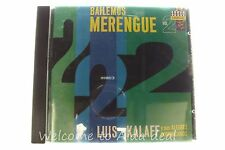 Bailemos Merengue, Vol. 2 by Luis Kalaff (CD,1991, Seeco Tropical)