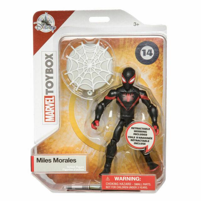 Disney Marvel Toybox Spiderman Action Figure Disney Store Toy box 3 Spider-Man