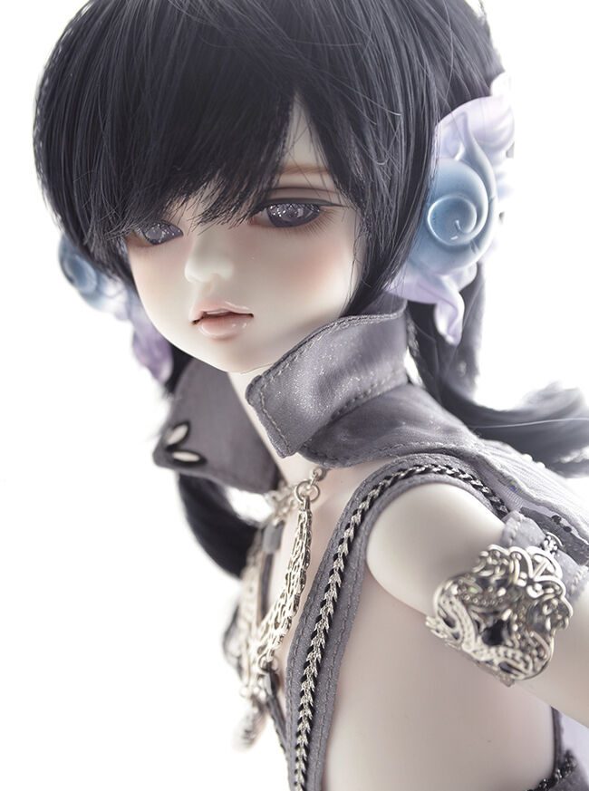 Muñeca de BJD 1 3 verdecillo o Rico niño ver libre de ojos, cara maquillaje, cuerpo Rubor