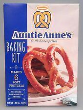 Auntie Anne's At Home Pretzel Baking Kit 20 oz Annes