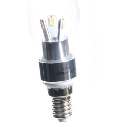 Superled Edison Tornillo E14 o B15 Bayoneta 3 vatios LED Pequeño EnergíA Clase A