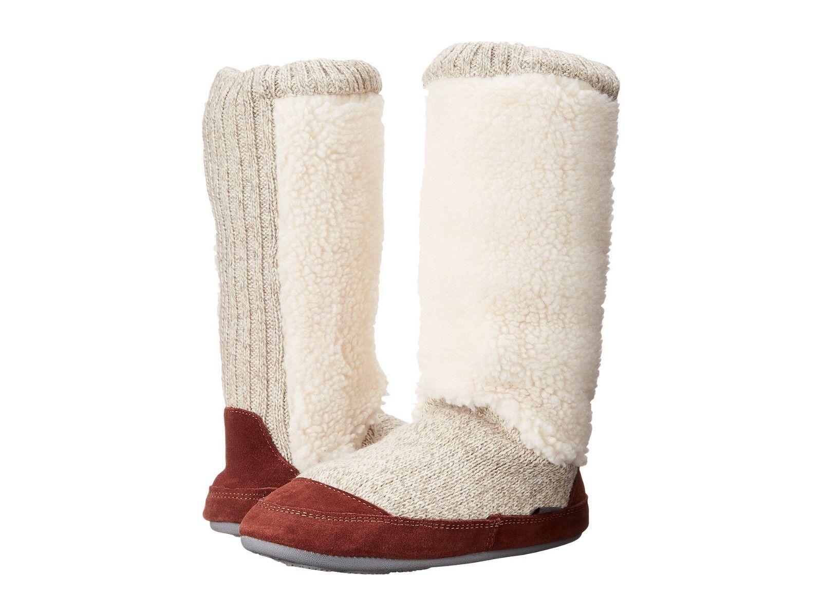 Acorn Slouch bota Buff Palomitas de Maíz Mediano (M, B)