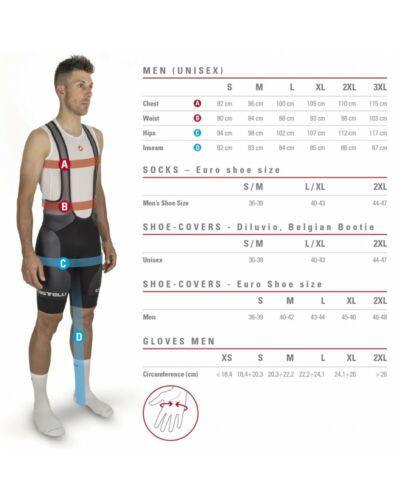 Details about  /Castelli Mortirolo V Gore Windstopper Jacket Cycling Man Red//Black