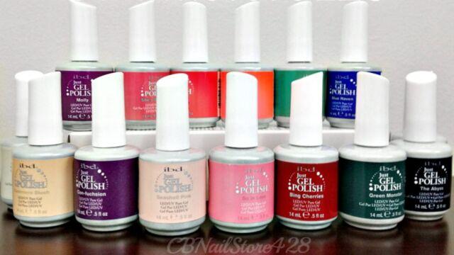 IBD Just Gel Polish-Set of any 15 bottles .5oz- Choose From Base/Top/Colors/Bond