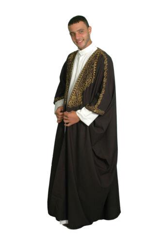 Caftan cape arabe Cheikh Déguisement Mardi Gras Costume Orient Moyen âge vêtements