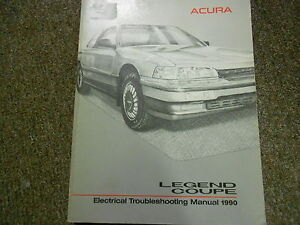 1990 acura legend coupe electrical troubleshooting wiring diagram rh ebay com