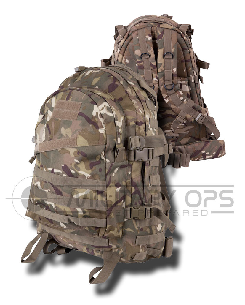 Multicam Mtp 3 Day Pass Spezielle Ops Assault Paket Sack Rucksack Range Patrole