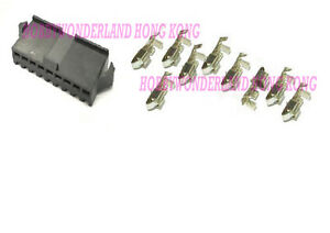 30-SET-JST-SM-2-5mm-9-Pos-Female-Connector-Housing-Plug-with-crimp-contact-pin