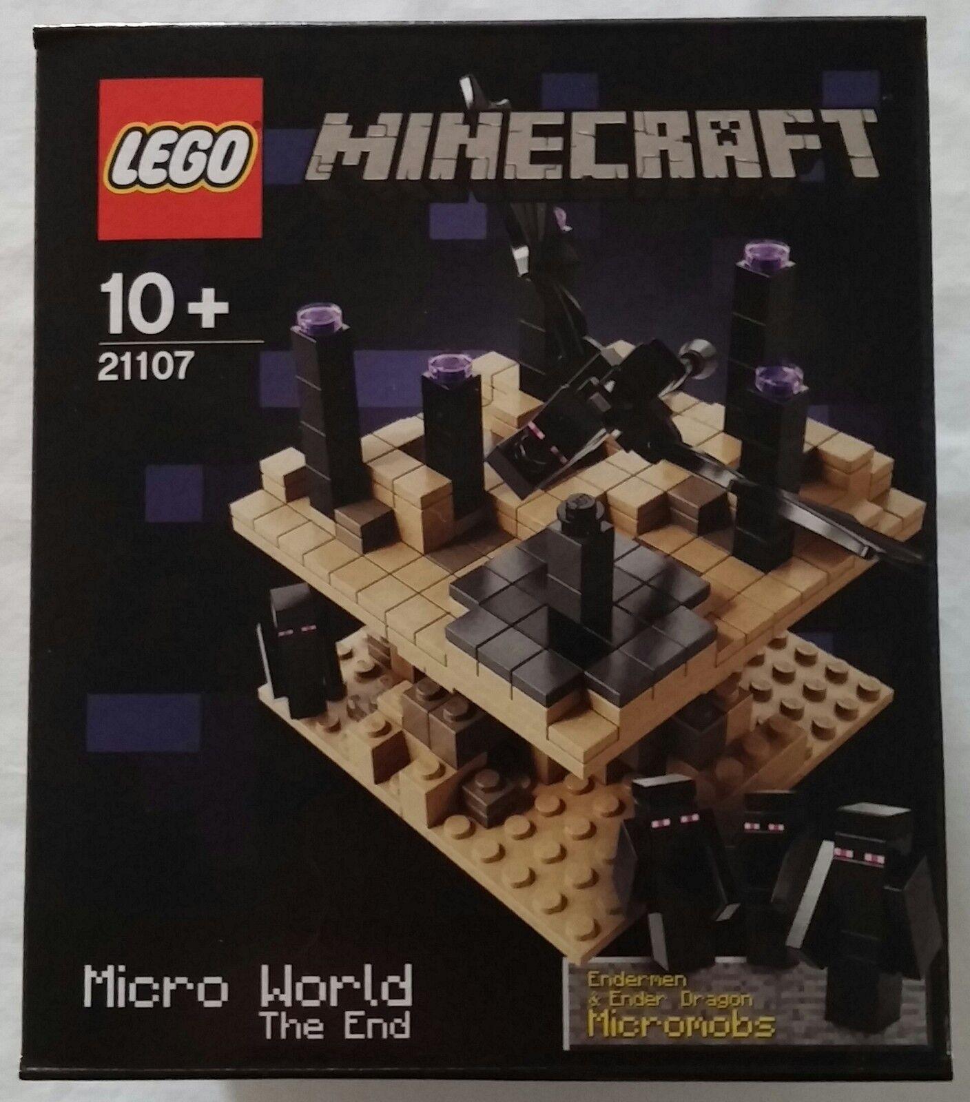 LEGO ® Minecraft 21107 la fin the end NOUVEAU & OVP new sealed