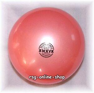 RSG-Ball-JUNIOR-BALL-Gymnastikball-ROSA-metallic-150-170mm-300g-NEU