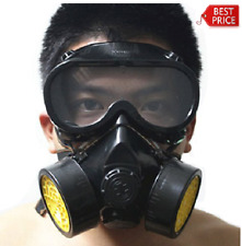 Goggles Gas Mask Respirator Filter Paint Safety Chemical Industrial Anti Dust