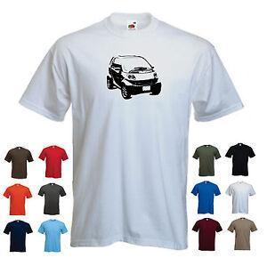 039-SMART-FORTWO-039-450-model-Men-039-s-Funny-smart-for-two-T-shirt