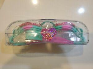 Bling2o Kids Swim Goggles with Anti Fog UV Protection Pink Rhinestone