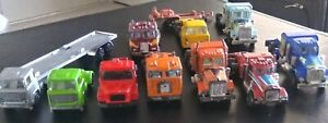 Camiones-toydariano-Vintage-Lote-De-10-Playart-Universal-Yatming-majorette-decada-de-1970
