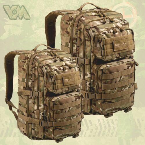 US ASSAULT PACK RUCKSACK LARGE 50L 30L ARMEE OUTDOOR TASCHE BW COOPER MULTICAM