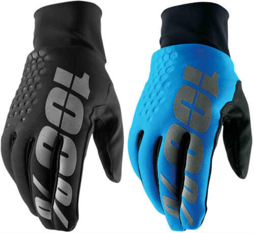 100% Hydromatic Brisker Gloves Cold Weather MTB Mountain Bike MX Motocross BMX