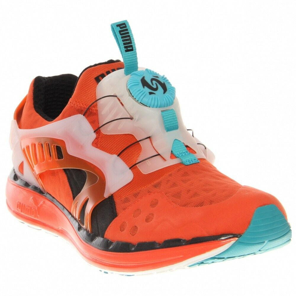 Puma Future Disc Lite T   357103 03 Orange Blau Weiß Men Sz 8.5 - 11.5