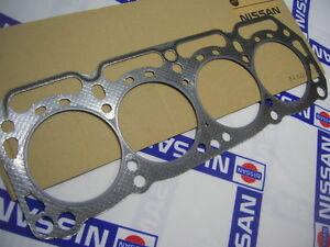 DATSUN 1200 GX Head Gasket 0.6mm Genuine (Fits NISSAN B10 B110 B310 A12 A14 A15)