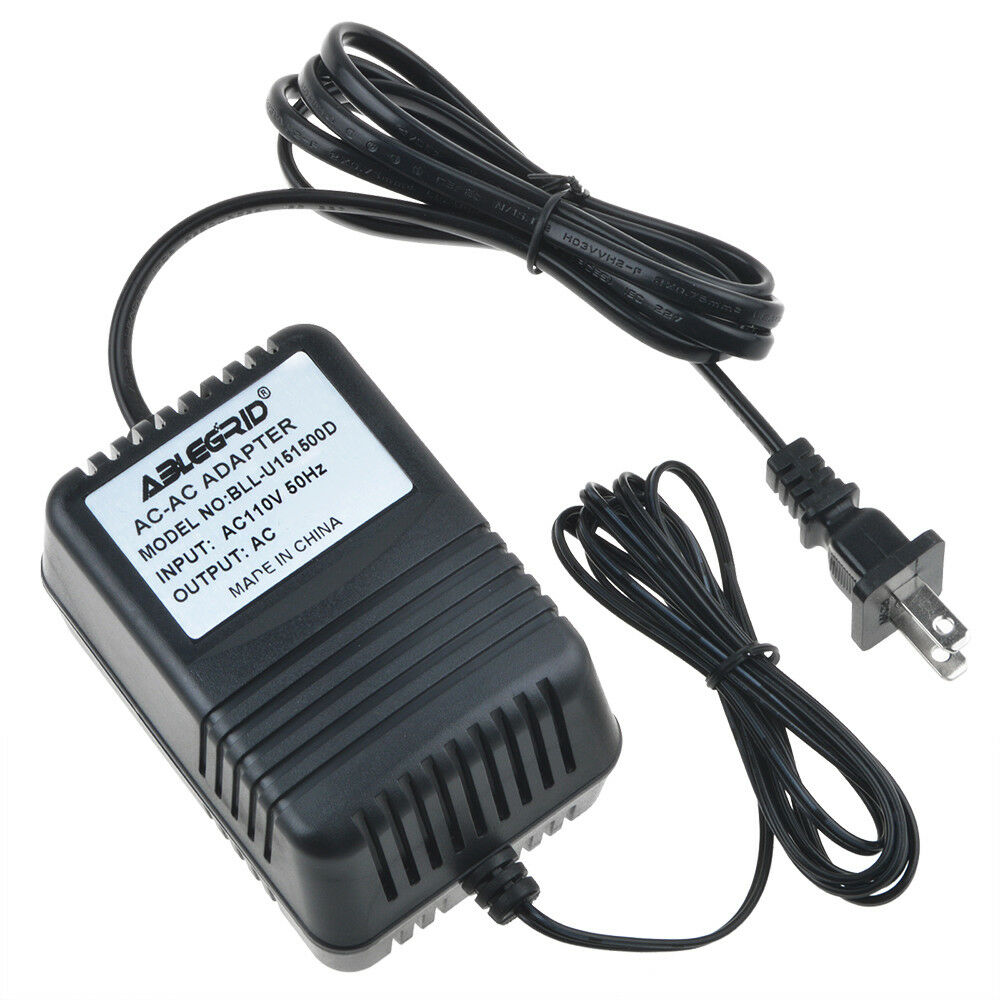 AC to AC Adapter for RCA Visys 25252 25250 25250RE1-A Corded Power Supply Cord