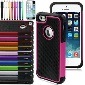 PC-Shockproof-Dirt-Dust-Proof-Hard-Matte-Case-Cover-For-iPhone-4S-5S-5C-6