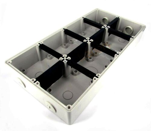 8 Module Mounting Enclosure Base 56 Series style IP66